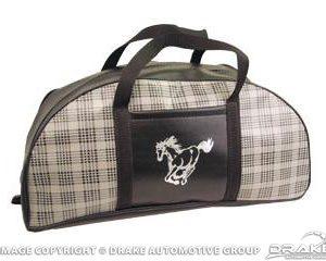 64-73 Tote Bag (Plaid, Large)