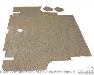 65-66 Coupe Convertible Trunk Mat (Speckled)