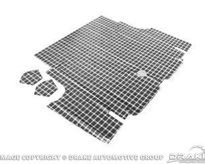 65-66 Coupe Convertible Trunk Mat (Plaid)