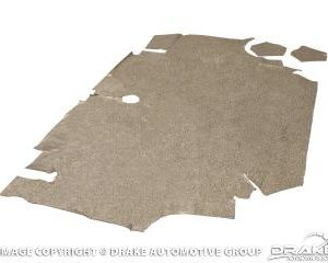 65-66 Fastback Trunk Mat (Speckled)