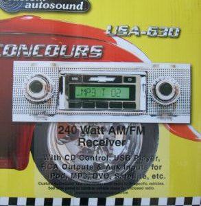 64-66 Mustang Radio