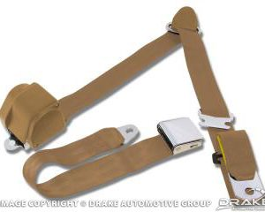 3-Point Seatbelt Parchment