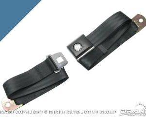 Push button Seat belt (Light Blue)