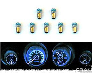 1969-70 Mustang Instrument Panel LED Light Bulb Set
