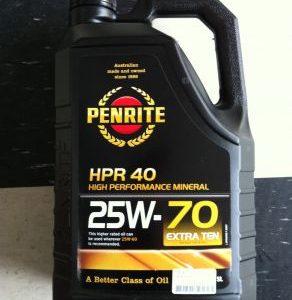 High Performance Oil