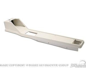 1964-66 Mustang Console Housing (White)