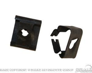 1967-68 Mustang Arm Rest Retaining Clips