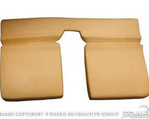 1965-70 Mustang Fastback Rear Seat Foam