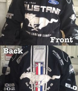 Ford Mustang Licensed Jacket - Black