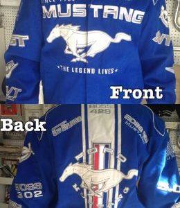 Ford Mustang Licensed Jacket - Royal Blue
