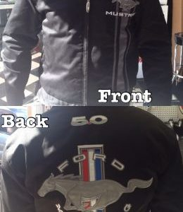 Ford Mustang License Jacket