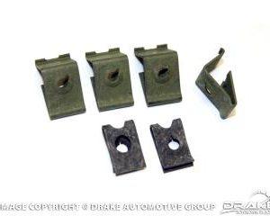 64-66 Instrument Bezel Top Retaining Clips