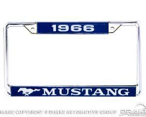 1966 Mustang License Frame