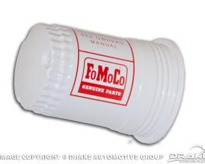 64-65 Fuel Pump Filter Canister (FoMoCo Logo)