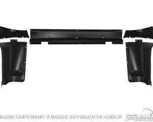 65-66 Upper Back Trim Panels (5 Piece Set)