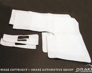 64-68 Convertible Quarter Panel Trim Pad Kit