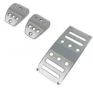 Billet Aluminum Pedal Covers-Manual(3 pc)