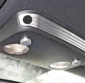 Aluminum Map Light Accents with Active Anti-theft