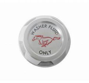 Billet Washer Reservoir Cap with Pony Logo
