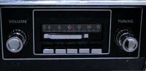 1967-73 Slidebar Radio